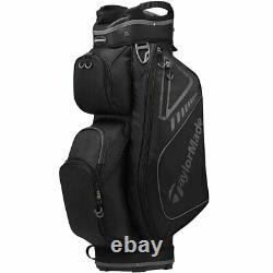 New TaylorMade Golf- Select ST Cart Bag Slate/Black