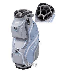 New Top Flite Women's Flawless Golf Club Cart Bag- 14-Way Padded Divider