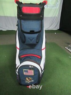 Nice Callaway Golf 2020 Org14 Cart Bag Navy/white/red Custom Logo