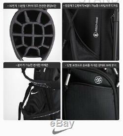 Nike 2020 Air Hybrid Golf Stand Caddie Cart Bag 10 14Way 6.4lb White CV1514-101