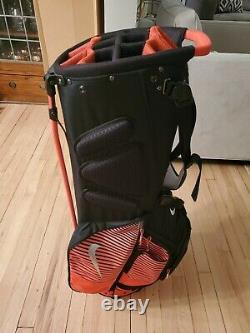 Nike Air Hybrid Carry Stand Cart Golf Bag 14 Way Divider Never Used