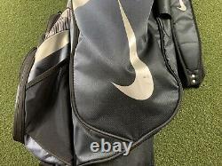 Nike Performance Golf Cart Bag 14-Way Divide Top Camo Gray Blue Black