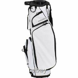 Ogio Golf Club Me Cart Bag White 14-way Top With 3 Handles Lightweight New 20221