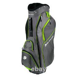 Orlimar CRX 14.6 Golf Cart Bag Charcoal/Lime NEW