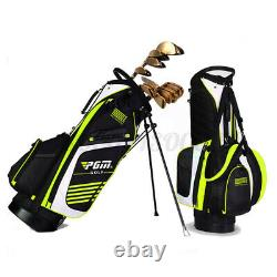 PGM Golf Stand Cart Bag Full Length Divider Shoulder Strap 14 Pockets Organised