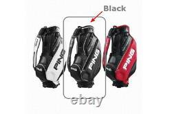 PING 2020 Sporty M20 Men's Caddie Cart Bag 9in 5way 11lbs PU Free EMS / Black