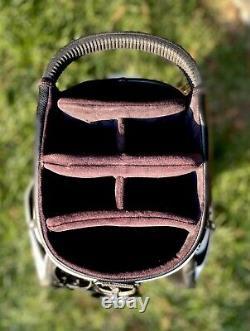 PXG White/Black Cart Golf Bag Parsons Extreme Golf Excellent Condition
