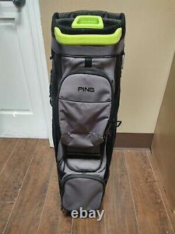 Ping 2019 Traverse 14 Divider Cart Golf Bag Black/YellowithGray