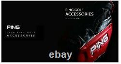 Ping 2020 Sporty M20 Men Sports Golf Cart Caddie Bag-9 5way 11lb PU/PVC Black