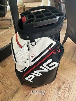 Ping DLX cart bag great shape