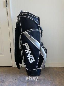 Ping Outlander Cart Bag Golf Bag Lightweight for Golf Cart use Minimal Wear