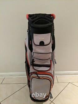 Ping Pioneer Golf Cart Bag Red / Black / Gray Rain Cover