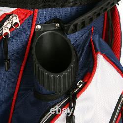 Powerbilt TPS 5400 USA Flag Cart Golf Bag NEW