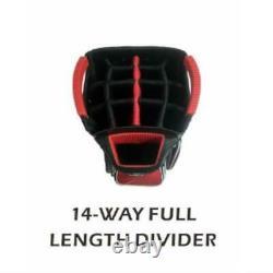 Precise Arranger Premium 14-Way Full Length Dividers Golf Cart Bag 11 Pockets