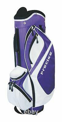 Precise MDXII Ladies 7-Way Divider Lightweight Golf Cart Bag Only 3.75 lbs