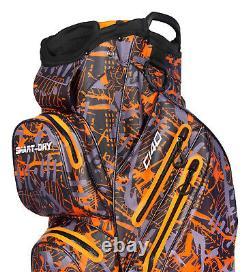 RADAR C140 Smart dry 100% Waterproof Golf Cart Bag Ultralightweight orange