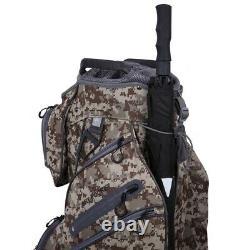 Ram Golf FX Deluxe Golf Cart Bag with 14 Way Dividers Combat Camo