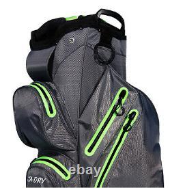 STA-DRY 100% Waterproof 14 WAY Golf Cart/Trolley Bag Ultralight G/L RP£279