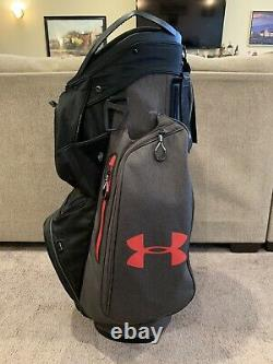 SUPER RARE! Under Armour Sun Mountain Storm Armada Golf Club Cart Bag