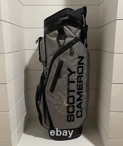 Scotty Cameron Golf Bag Heather Gray Cart 2019 Circle T Ct Golf Stand Staff New