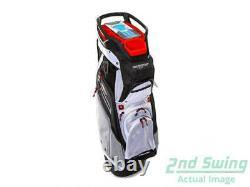 Sun Mountain 2021 C-130 Cart Bag Black / Charcoal / White / Red