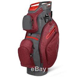 Sun Mountain C-130 5-Way Cart Bag Chili/Gunmetal