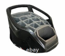 Sun Mountain C130 Black/White/Grey/Red 14-Way Cart Golf Bag