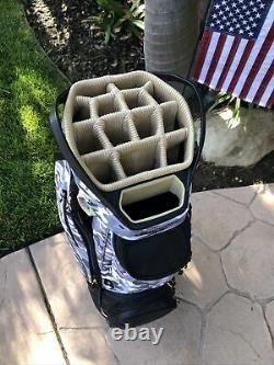 Sun Mountain Maverick Cart Bag with 15 Way Top New Camo Black Gray
