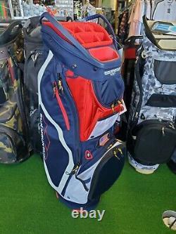 Sun Mountain Mavrick Cart Bag USA navy white red
