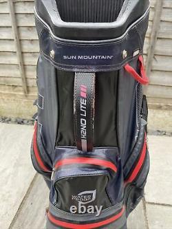 Superb Sun Mountain H2no Waterproof Trolley/cart Golf Bag