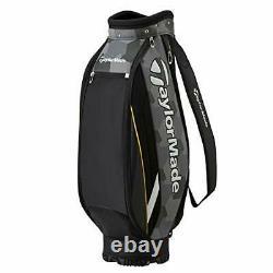 TAYLOR MADE Golf Men's Caddy Bag TRUE-LITE 9 x 47 inch 2.8kg Camo Black KY833