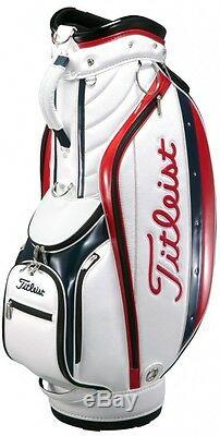 TITLEIST Golf Caddie Bag CB631-TRI Tricolol 47x9 Japan Import New Fast Shipping