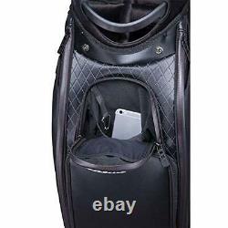 TITLEIST Golf Men's Cart Caddy Bag Tour Model 9.5 x 47 in 4.8kg Jet Black TB9SF9