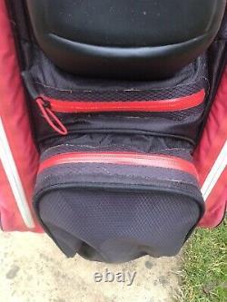 TITLEIST STADRY TROLLEY/CART GOLF BAG, 14-Way, Strap, Rainhood