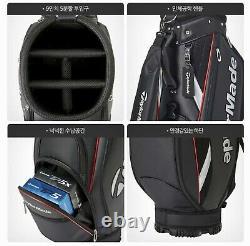 TaylorMade 2020 TRUE LITE Men's Golf Caddie Bag Cart 9Inch 5Way 6.4lb Black -EMS
