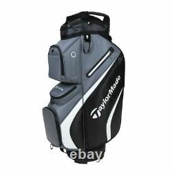 TaylorMade Deluxe 14-WAY Trolley/Cart Golf Bag Black/Grey NEW! 2021