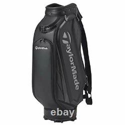 TaylorMade Golf Men's Caddy Bag TOUR-ORIENTED 9.5 x 47 inch 4.2kg Black KY829
