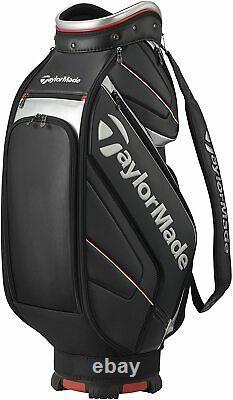 TaylorMade Golf Men's Cart Caddy Bag AUTH-TECH 9.5 x 47 inch 3.8kg TB648 Black