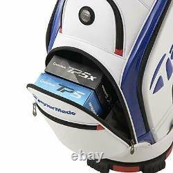 TaylorMade Golf Men's Cart Caddy Bag AUTH-TECH 9.5 x 47 inch 3.8kg TB648 White