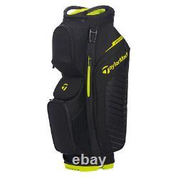 TaylorMade Mens Cart Lite Cart Golf Bag 2020 Black/Neon Lime