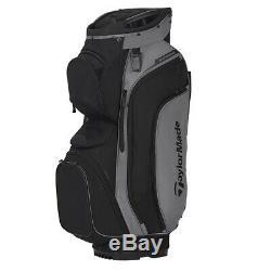 TaylorMade Supreme Cart Golf Bag 2020 Grey/Black