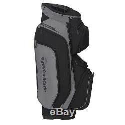 TaylorMade Supreme Cart Golf Bag Gray Dark/Black New 2020
