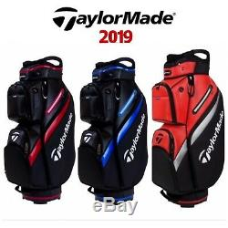 Taylormade 2019 Deluxe Pu 15 Way Divider Golf Cart Trolley Bag