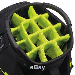 Taylormade Cart Lite Golf Bag Black/neon Lime New