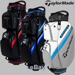 Taylormade Deluxe Golf Cart Bag 2020 Model All Colours 15-way 20% Off