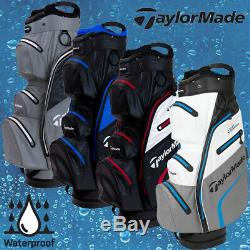 Taylormade Deluxe Waterproof Golf Cart Bag 2020 Model All Colours 28% Off