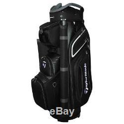 Taylormade Premium 2020 Cart Bag Black/white/grey New
