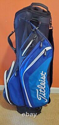 Titleist 14 Lightweight Cart Bag Black/Blue