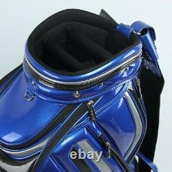 Titleist 2019 Men Caddie Bag Casual Cart TB8CTCB 9In PU/PVC BLUEBERRY
