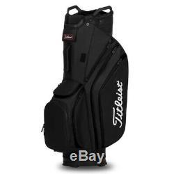 Titleist Cart 14 Lightweight Golf Cart Bag New 2020 Black
